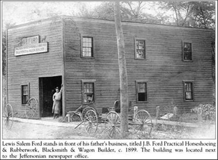 Ford Louisville Ky >> J.B. Ford Blacksmith Shop Jeffersontown, Ky., 1899 | Big Lou's Louisville | Pinterest ...