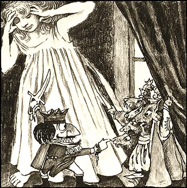 from NUTCRACKER by E.T.A Hoffmann, illustrated by Maurice Sendak
