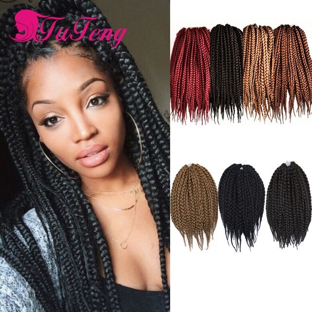 97 best images about box braids hair on pinterest - Crochet braids avec xpression ...