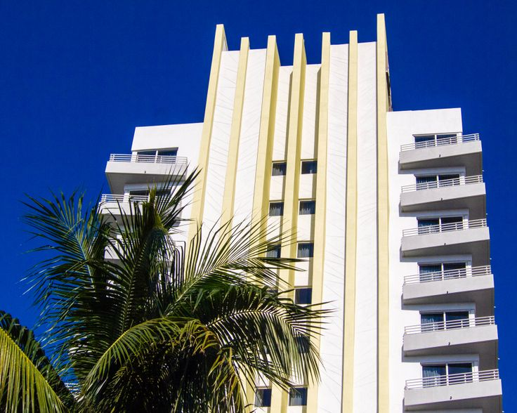 Even if the building doesn't impress you, that blue sky should!