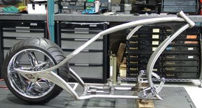 Diamond Chassis Chopper Frame and Lusso Wheel: The custom built Diamond Chassis Frame for Sale is a true one off Chopper frame. This frame was built according to my SPECS at Diamond Chassis in Riverside