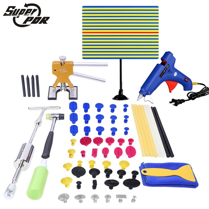 Super PDR Tools Paintless Dent Repair Tools Store Brand New PDR Tools Kit Slide Hammer Car Glue Gun for Sale Auto Body Shop #Affiliate