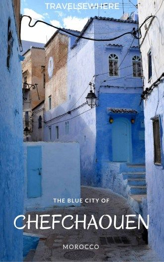 Chefchaouen, the Blue City, is the kind of place where its hard to believe the photos are true. I'm here to tell you that the photos totally do it justice, via @travelsewhere