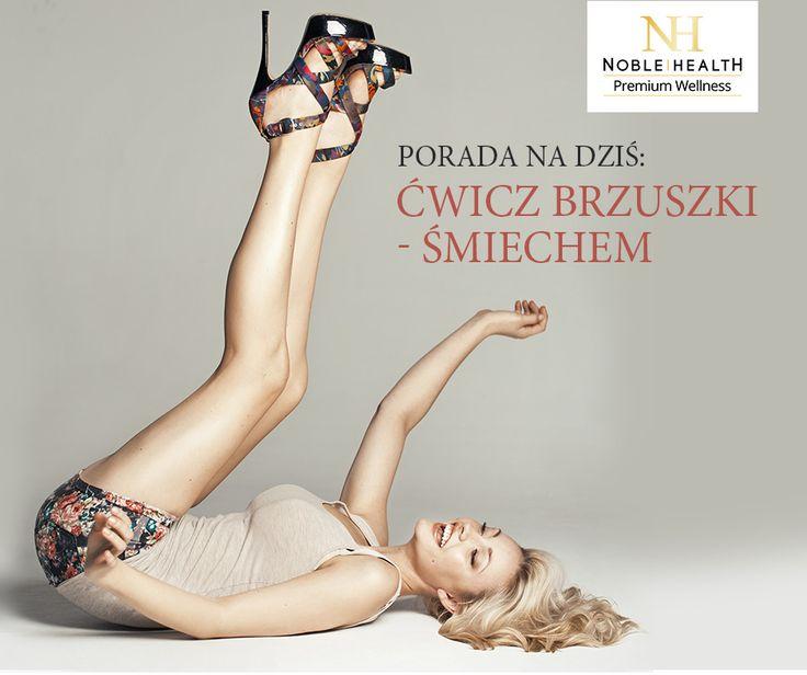 #porada #noblehealth #twojtrening #brzuszki #smiech