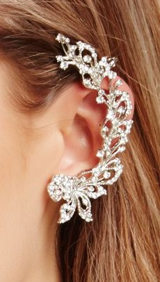 Filigree ear cuff