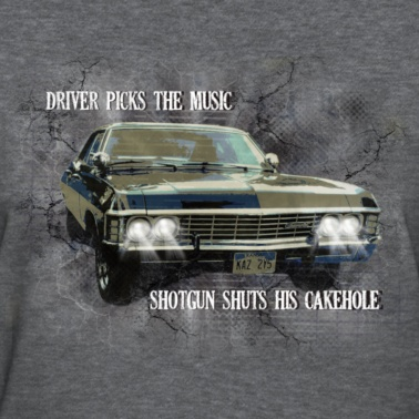 LOL!Driver Pick, Supernatural Obsession, Fans, Dean And Sam Funny, House Rules, Dean Winchester, Supernatural Impalas, Sam Winchester, Supernatural Dean Cars