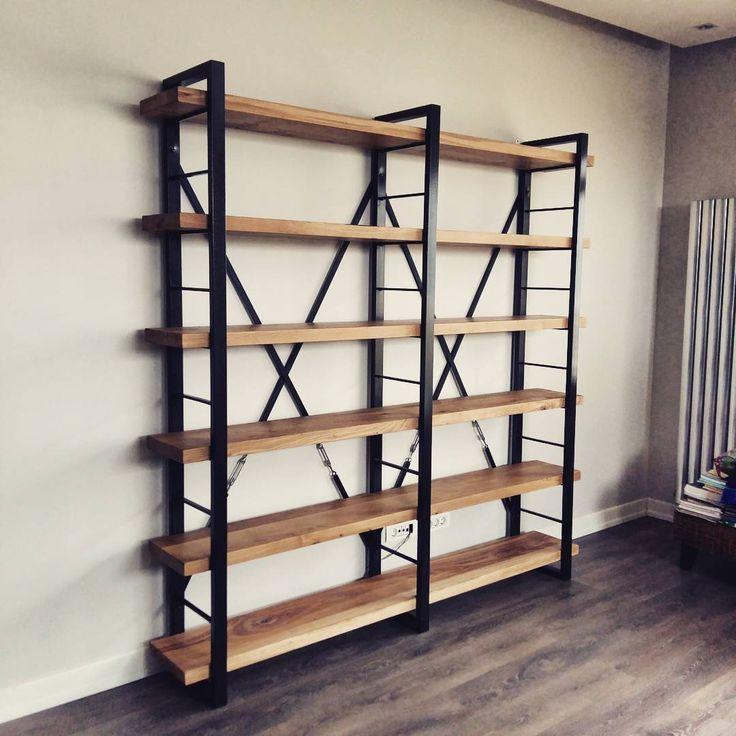 """Sadelik guzelliktir"" Timber masif mese kitaplik www.mozilya.com #mozilya#mobilya#mimar#icmimar#dekorasyon#tasarım#ofis#evim#dekor#trend#gununkaresi#woodwork#masif#masifmobilya#instadaily#instadesign#kitaplik#kutuphane#bookcase#istanbul#interior#instadecor#furniture#style#inspiration"