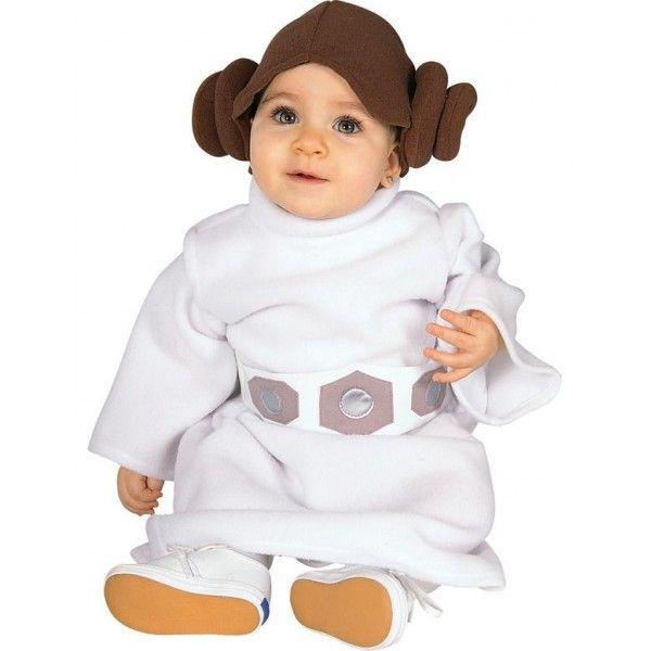 Disfraz de Princesa Leia para bebé