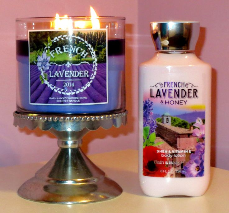 French Lavender 3-Wick Candle and French Lavender & Honey Body Lotion #LuvBBW #BBWInsider #3Wick #candle #BathandBodyWorks #free #coupon #todayonly #frenchlavender #lavender #provence #frenchlavenderandhoney #honey #sheabutter #VitaminE