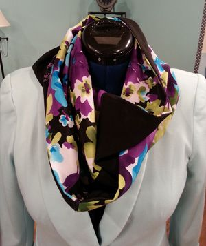 Scarves with Cookie Gaynor on It's Sew Easy @Brother Sews @Sara Havel
