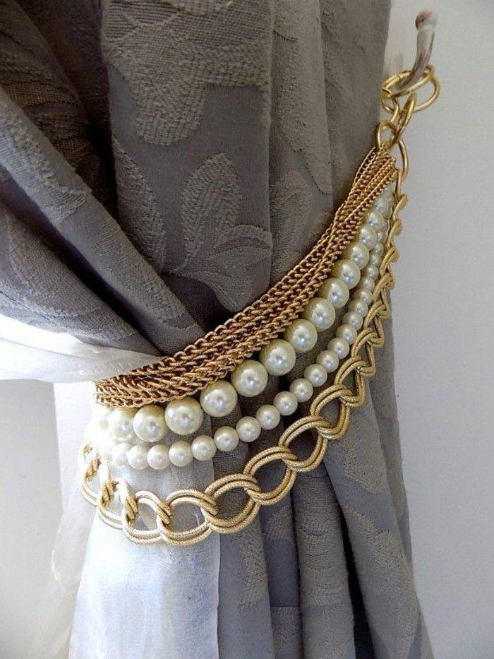 les 25 meilleures id es de la cat gorie rideaux de perles sur pinterest rideaux de perles. Black Bedroom Furniture Sets. Home Design Ideas