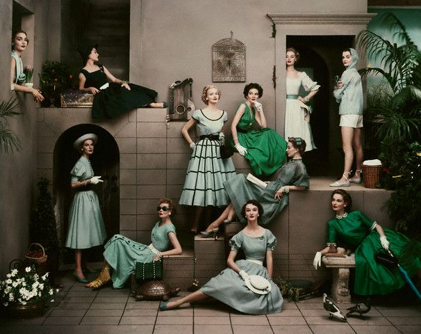 50's ladies by frances mclaughlin gill