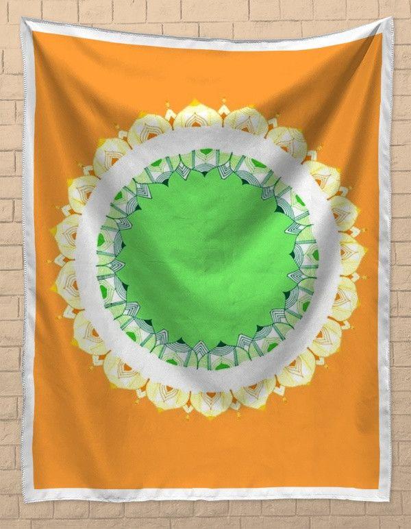 Mandala Art   Republic Day Tapestries   Artist : Amulya Jayapal   PosterGully