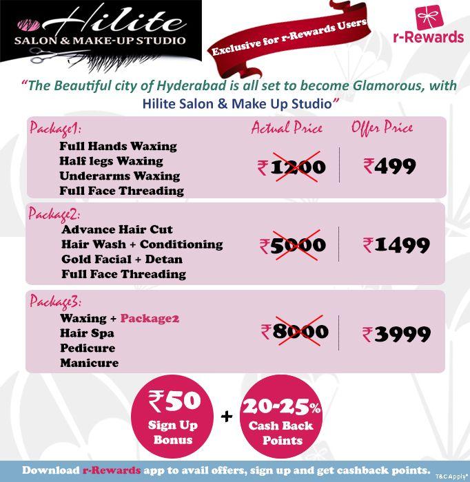 We are happy to announce that r-Rewards is now live at #HiliteSalon & Makeup Studio. Visit http://r-rewards.com