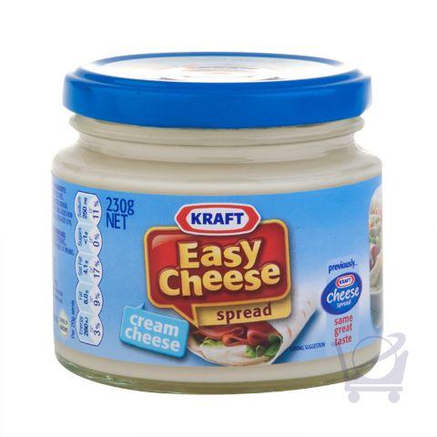 Easy Cheese Spread – Cream Cheese - Kraft – 230g | Shop Australia