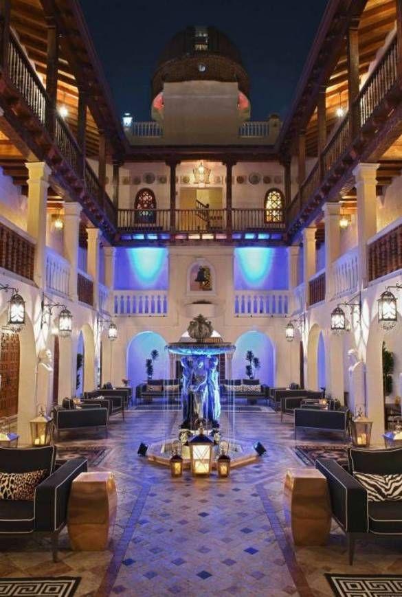 Imagen del hotel Villa Casa Casuarina de Miami que perteneció a Gianni Versace.