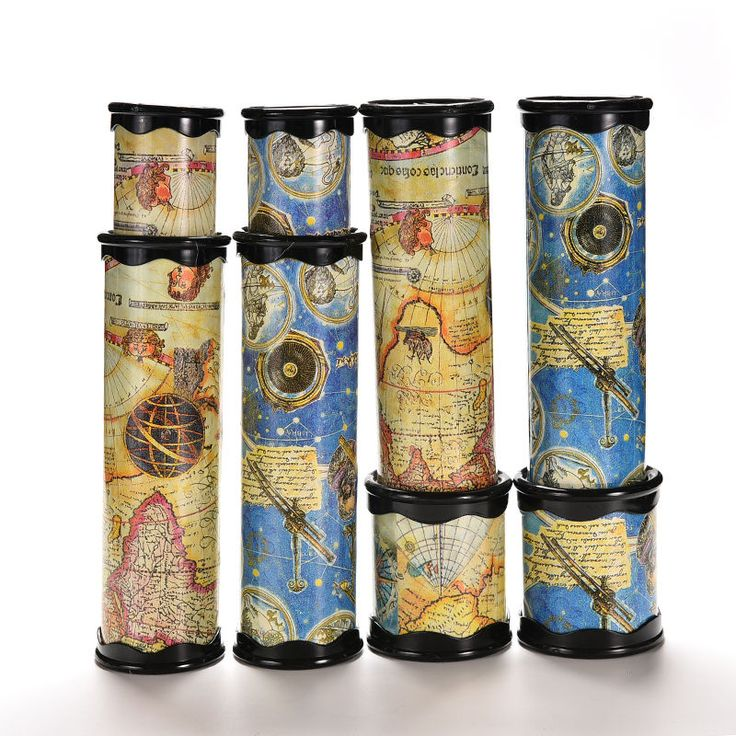 1 PC Rotating Kaleidoscopes Colorful World Preschool Toys Style Best Kids Gifts Color Random