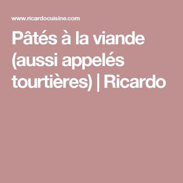 Pâtés à la viande (aussi appelés tourtières) | Ricardo