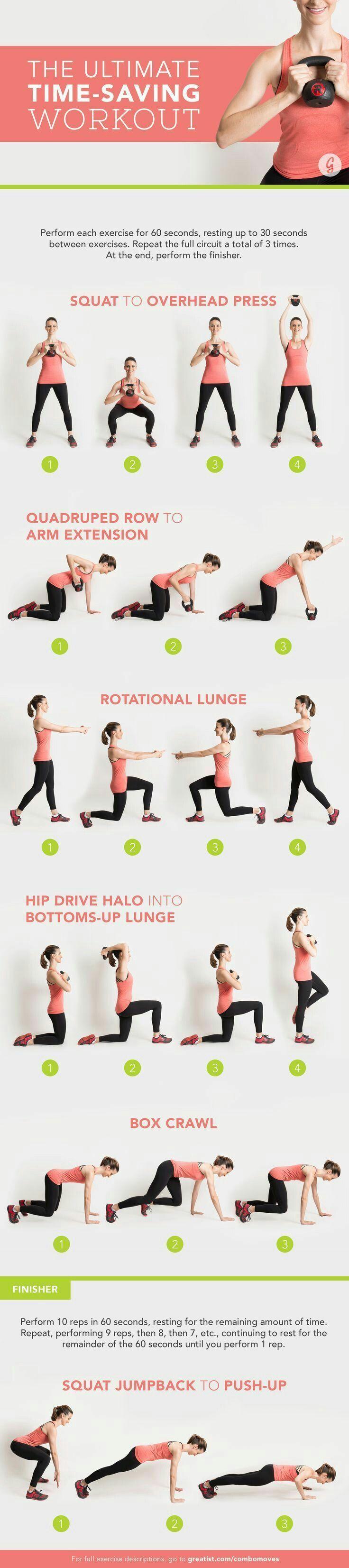 time saving workout routine