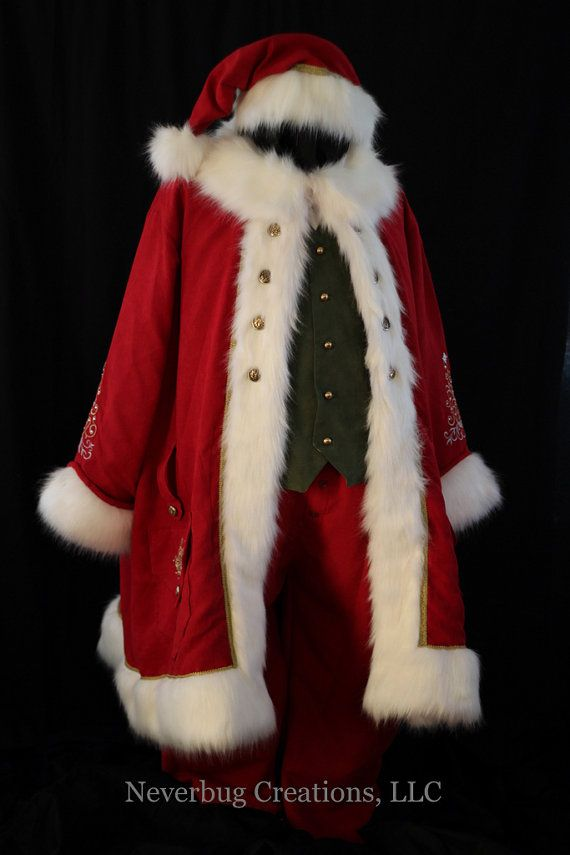 Custom Created Victorian Santa Costume by NeverbugCreations