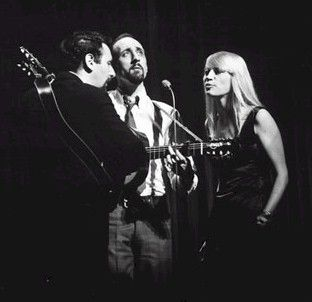 "Peter, Paul & Mary Peter Yarrow, Noel ""Paul"" Stookey, and Mary Travers ""Lemon Tree"", ""If I Had a Hammer"", ""Where Have All the Flowers Gone"" (1962)"