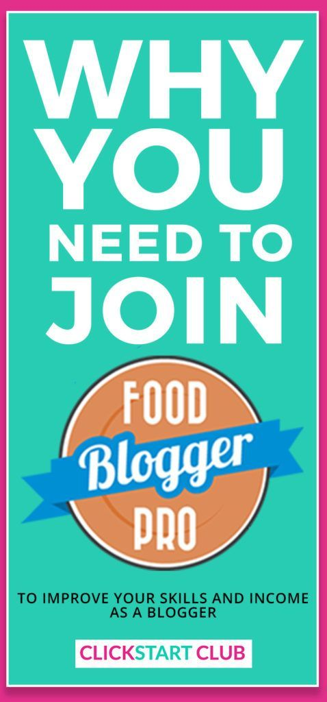 Why you need to join the Food Blogger Pro community. Food Blogger Pro is opening their doors for enrollment and we here at Click Start Club love this blogging resource and membership site. Learn photography, SEO, and tips to improve your blog.