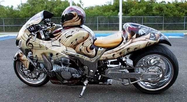Fotos de Motos Tunadas e Esportivas