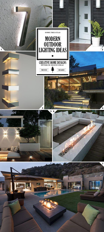 Modern outdoor lighting fixtures and ideas
