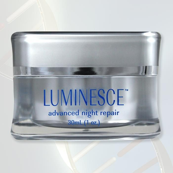 LUMINESCE Advanced Night Repair Anti-Aging Skin Care by Jeunesse Global. For further information: www.seanconrad.generationyoung.com