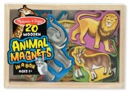 Melissa & Doug - Wooden Animal Magnets Shop Online - iQToys.co.nz