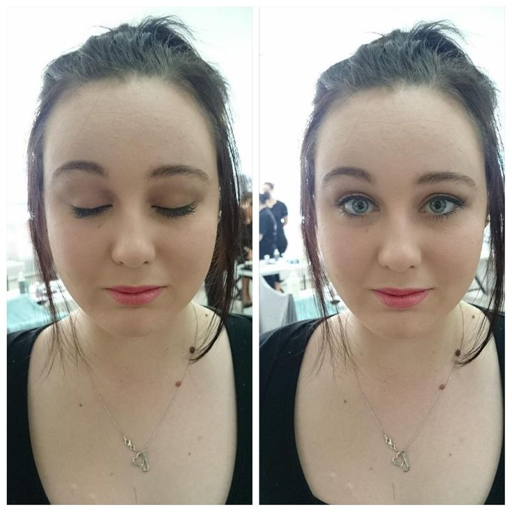 Make up done by me