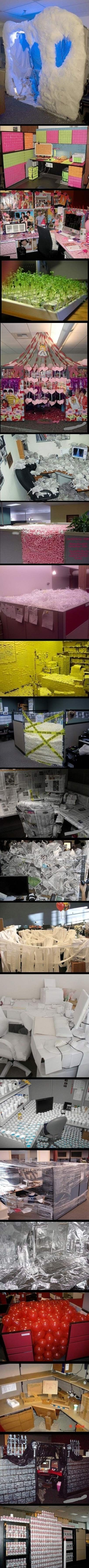 A collection of office pranks�