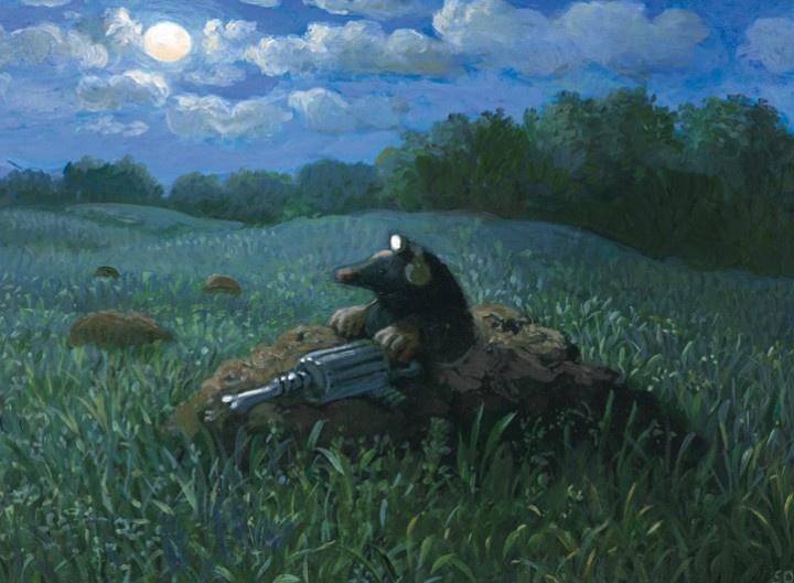 михаэль сова художник картинки тоже самое