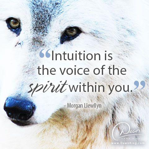 Intuition. www.dawnking.com