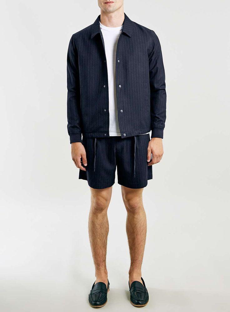 Topman shorts + jacket