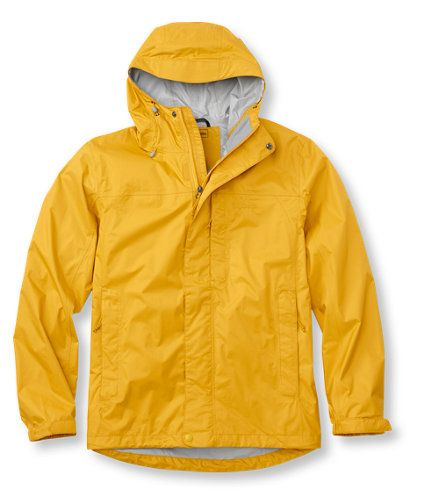 Our classic rainwear has it all– moisture protection, breathability, comfort and lightweight, packable convenience. TEK2.5 ripstop nylon fabric with advanced ceramic coating provides waterproof protection and exceptional breathability. Taped, waterproof seams; Velcro®-closure-cinch cuffs; a storm flap and an adjustable drawcord droptail hem keep you dry. Stowaway design for easy take along– just in case. Pockets have been repositioned for easier access when you're ...