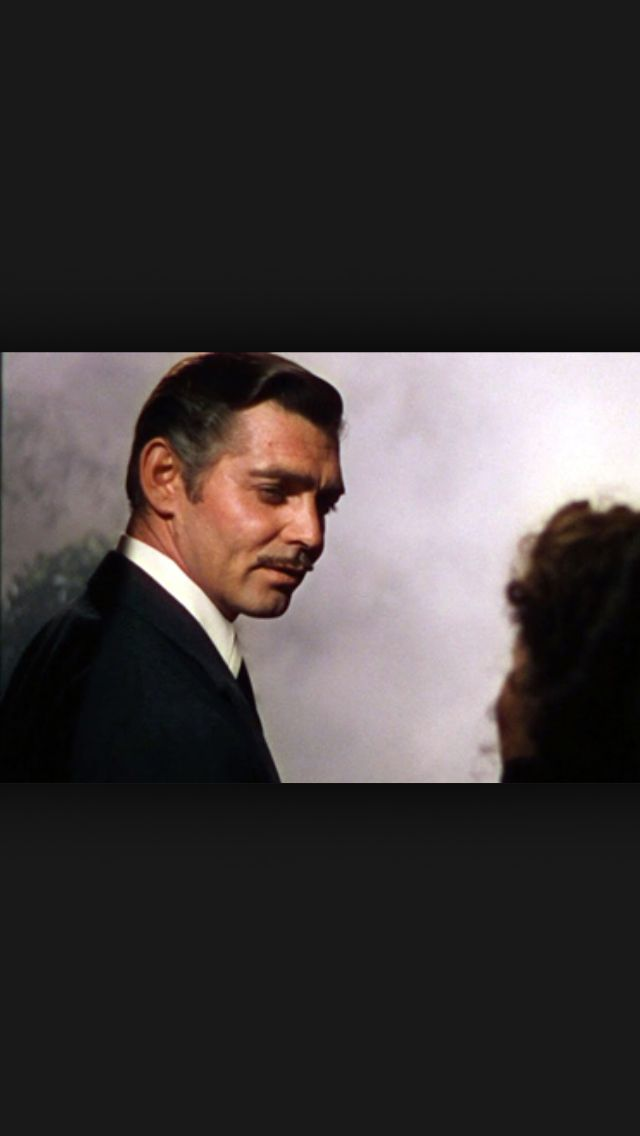 """Frankly, my dear, I don't give a damn!""  Rhett Butler Gone with the Wind (1939)"