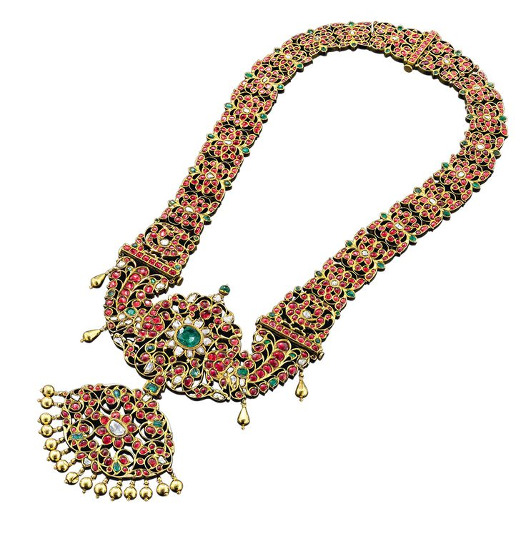 Ganjam's Heritage necklace.