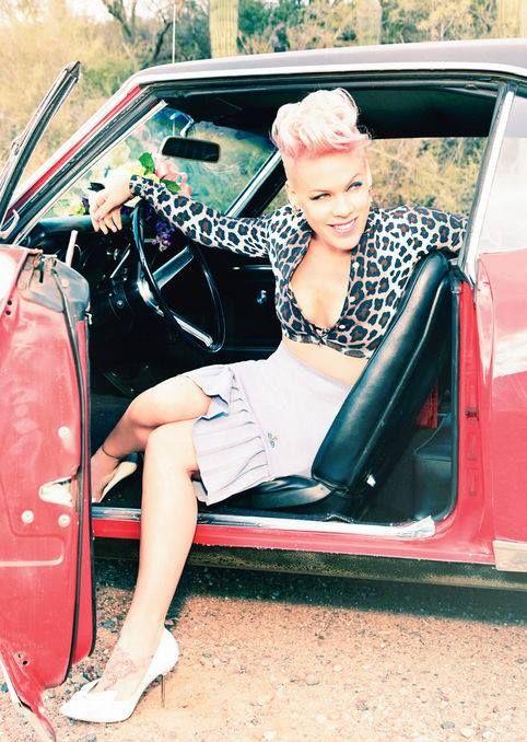 Pink by Ellen von Unwerth // Glamour // June 2013