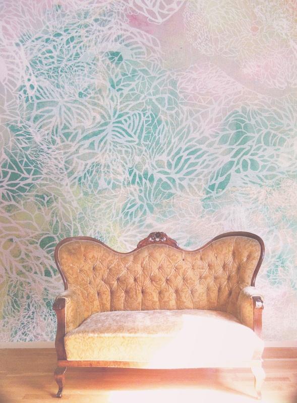 Wallpaper in pastel