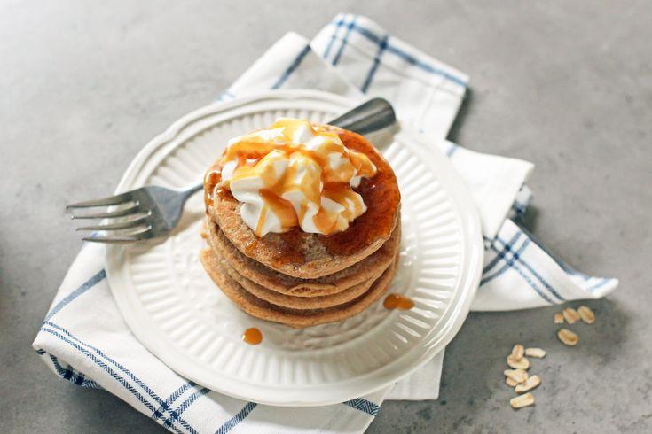 nutribullet vegan gluten free oatmeal pancake recipe breakfast
