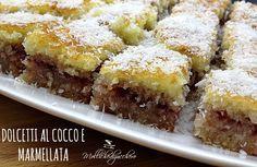 dolcetti #cocco e #marmellata - Mollichedizucchero
