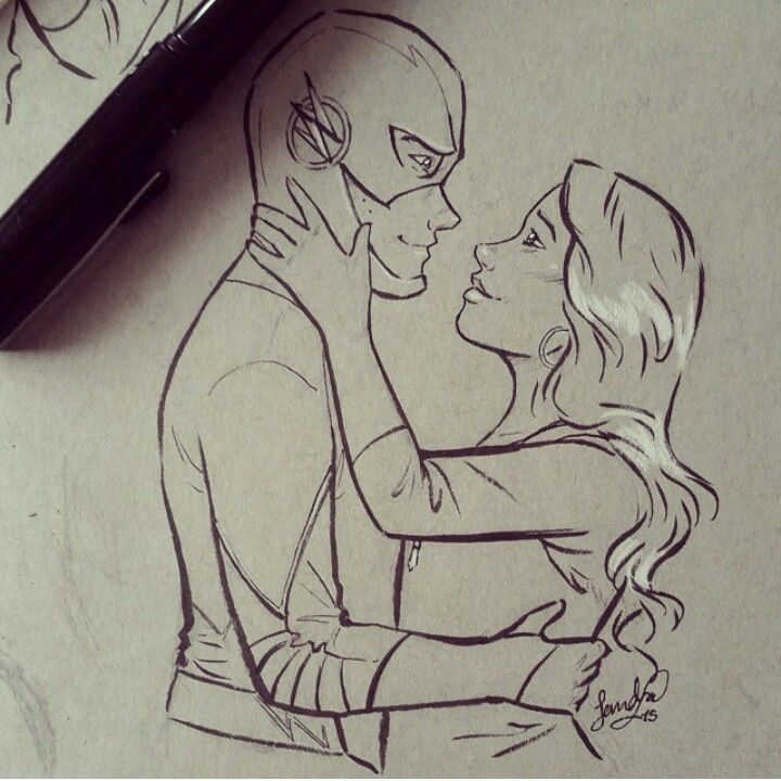 Barry Allen and Iris West-Allen / The Flash