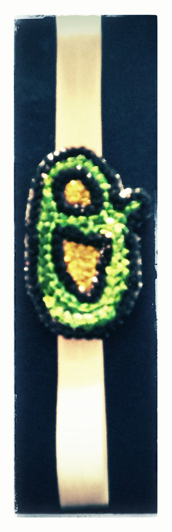Green and Gold Sequin Opening Day Oriole's O heabdand by HeadQuase, $10.00