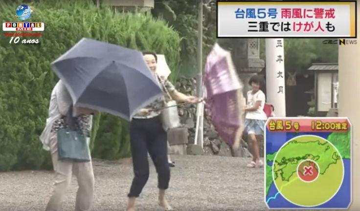 La previsión meteorológica es de que el tifón n.º 5 se aproxime de Mie, Gifu y Aichi a las 19h de este lunes requiere cuidados. En Mie, la situación ya se agravó. Conferir.