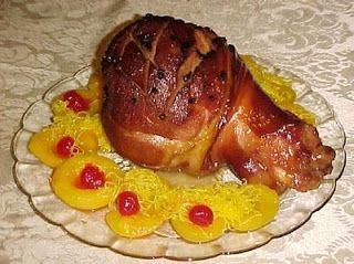 Perna de porco assada