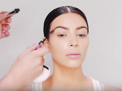 Kim Kardashian's Makeup Artist Just Revealed The Product He Uses On Her Eyebrows | allure.com