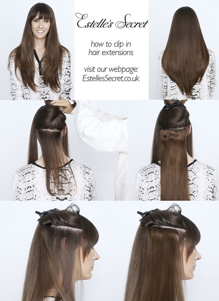 12 best diy hair extensions images on pinterest hair extensions quick easy tutorial watch our video on how to clip in hair extensions the pmusecretfo Choice Image