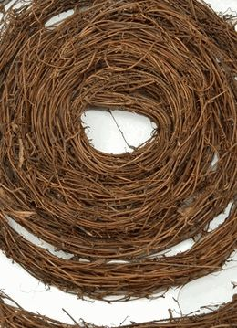 Grapevine Garland  ~ 15 Feet  for  $7  ~  To make boxwood topiaries