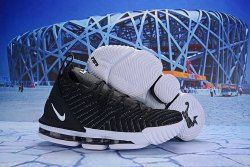 2fd5d7ca102 Nike LeBron 16 EP Black White AO2588 053 Men s Basketball Shoes James  Trainers